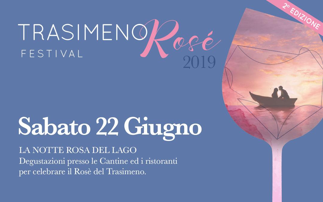 Il 22 giugno torna il Trasimeno Rosè Festival